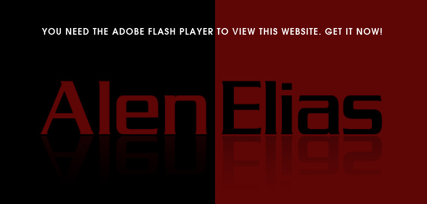 Alen Elias : This site uses the Adobe Flash Player so please download and install it now